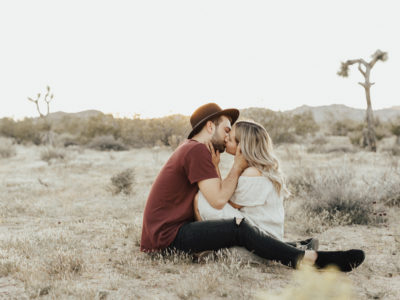 Josh + Roxy : Joshua Tree Engagement Session Pt 1